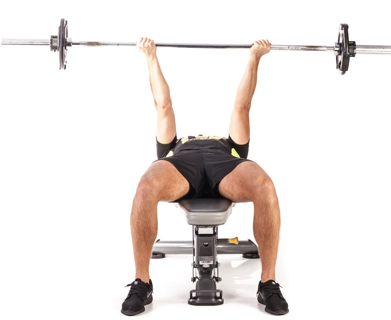 Reverse Triceps Bench Press frame #1