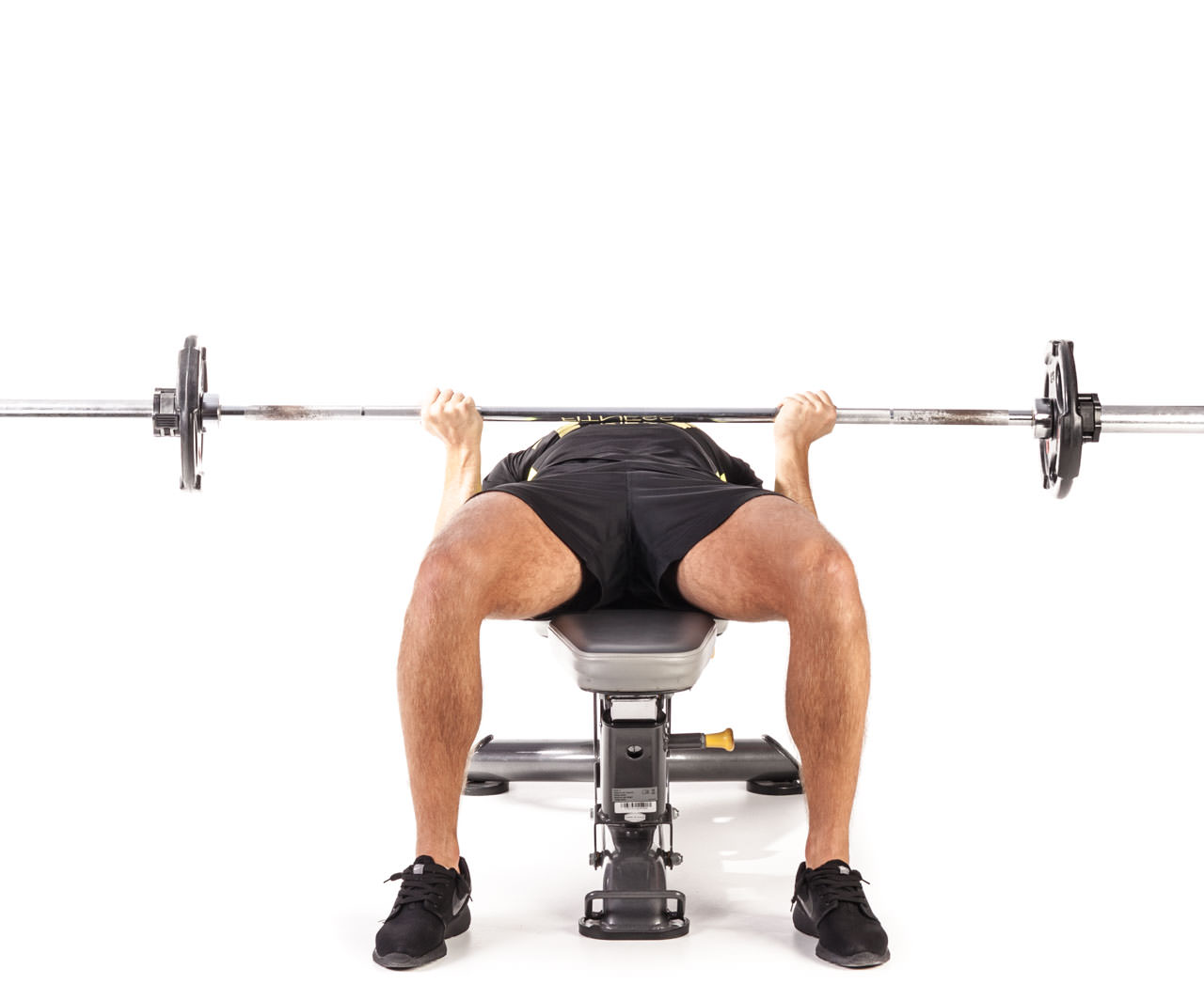 Reverse Triceps Bench Press frame #2