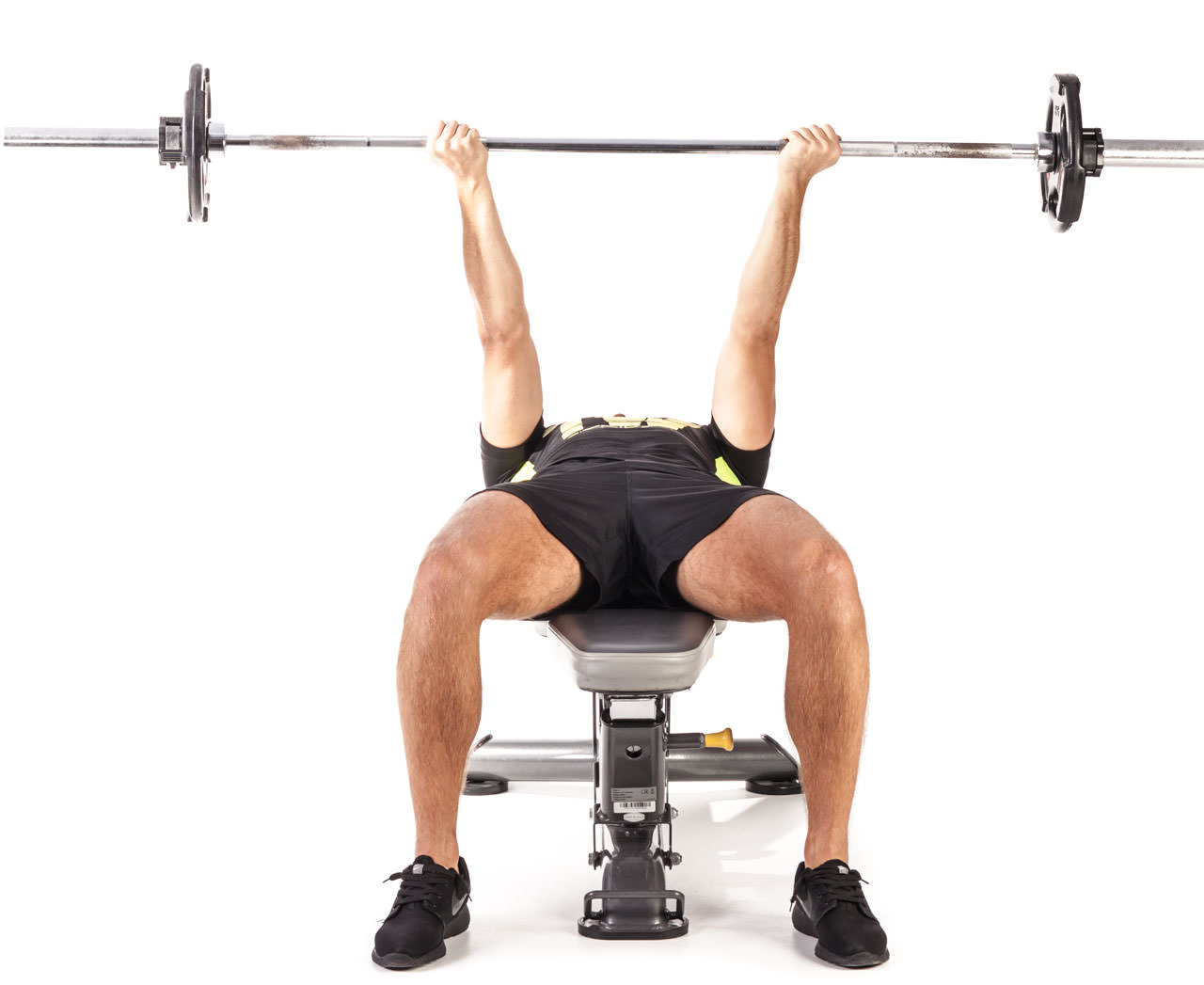 Reverse Triceps Bench Press frame #3