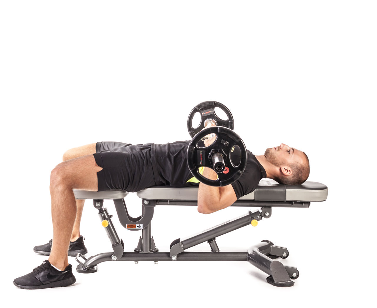 Reverse Triceps Bench Press frame #5