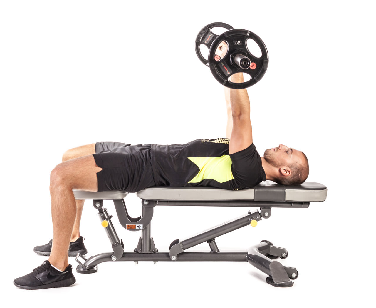 Reverse Triceps Bench Press frame #6