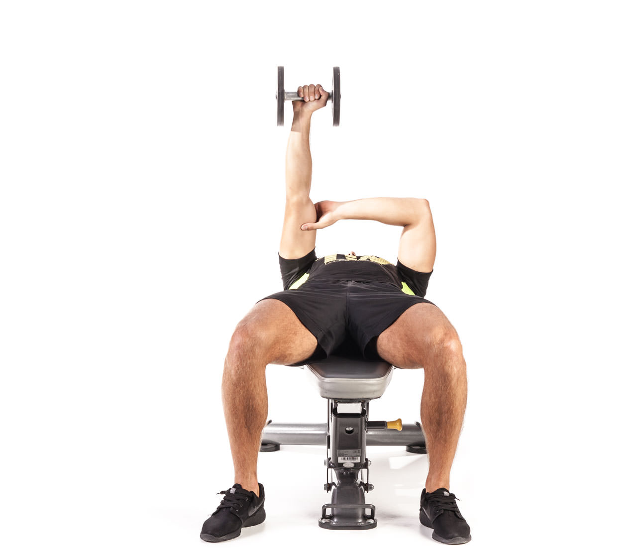 One-Arm Dumbbell Triceps Extension frame #3