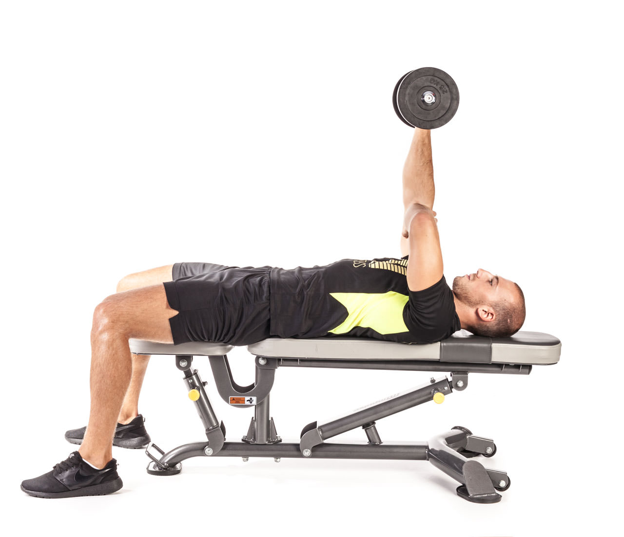 One-Arm Dumbbell Triceps Extension frame #4
