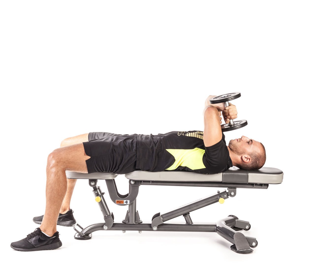 One-Arm Dumbbell Triceps Extension frame #5