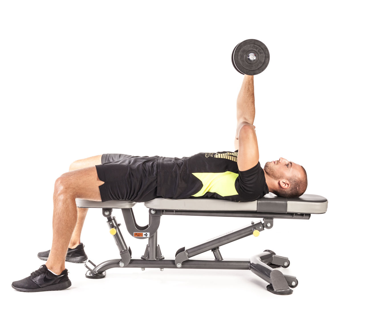One-Arm Dumbbell Triceps Extension frame #6