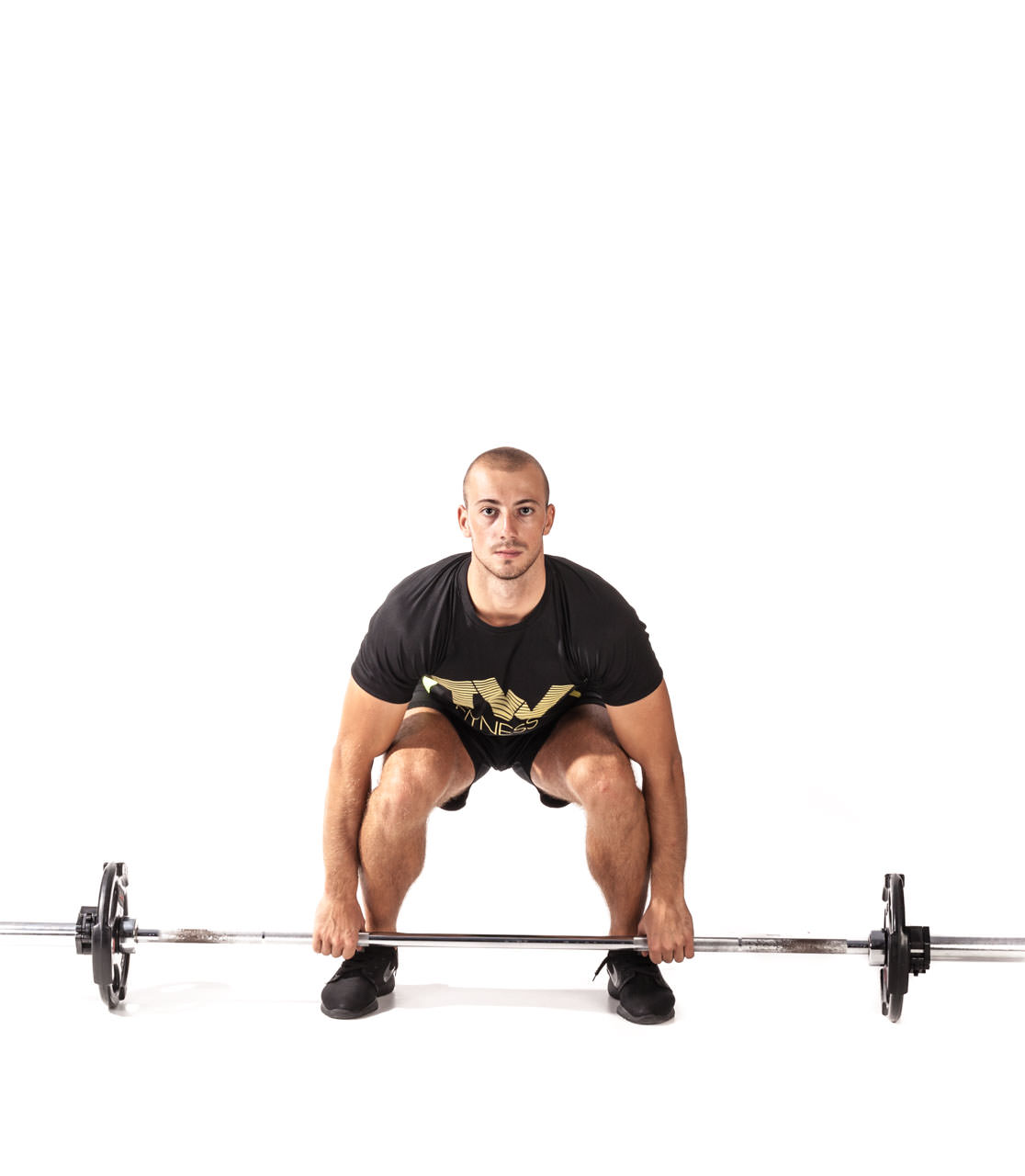 Barbell Clean frame #1