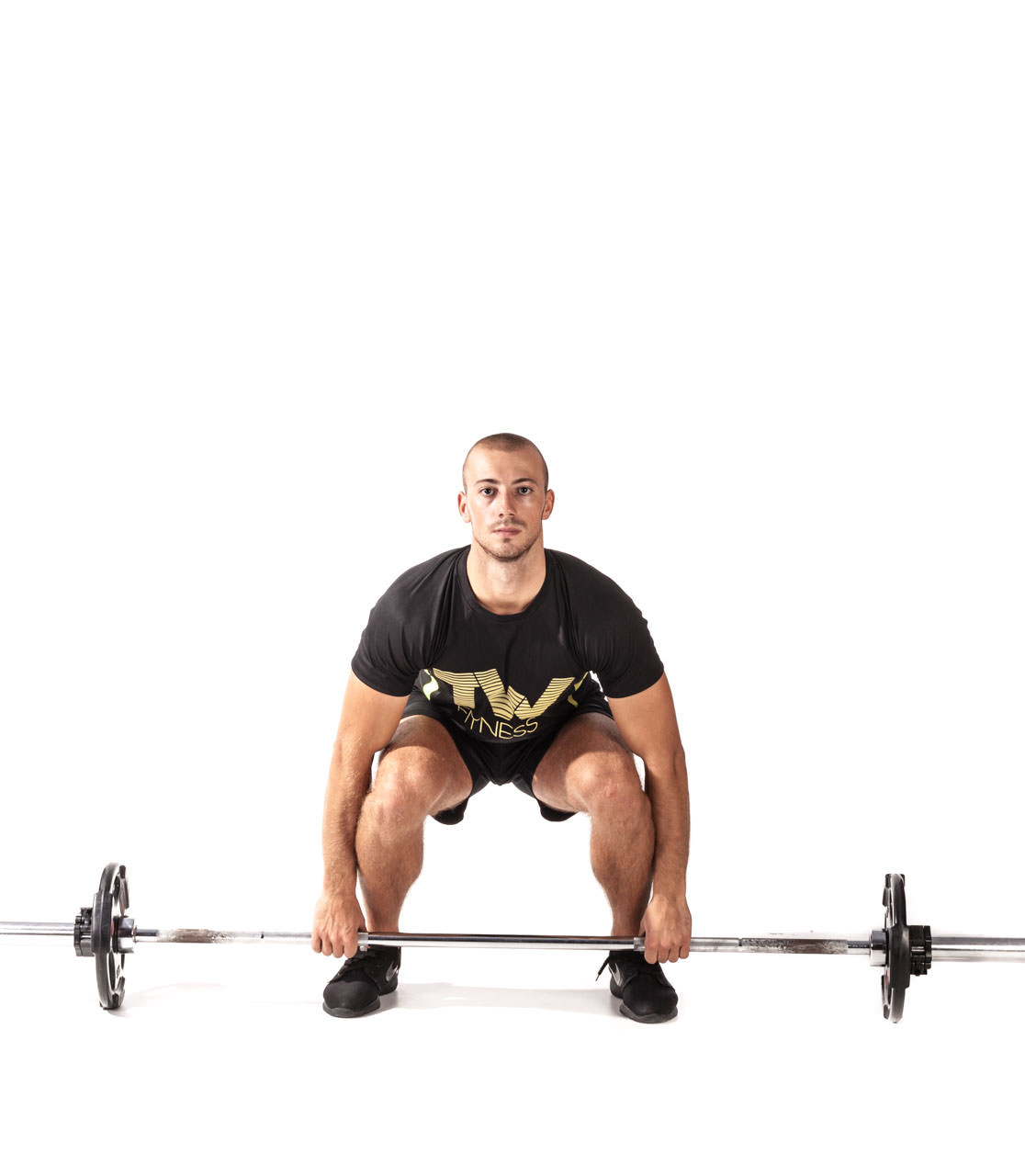 Barbell Clean frame #3