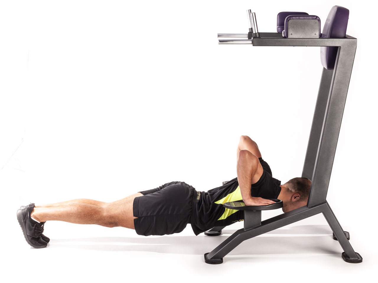 Incline Push-Up Dip Machine frame #2