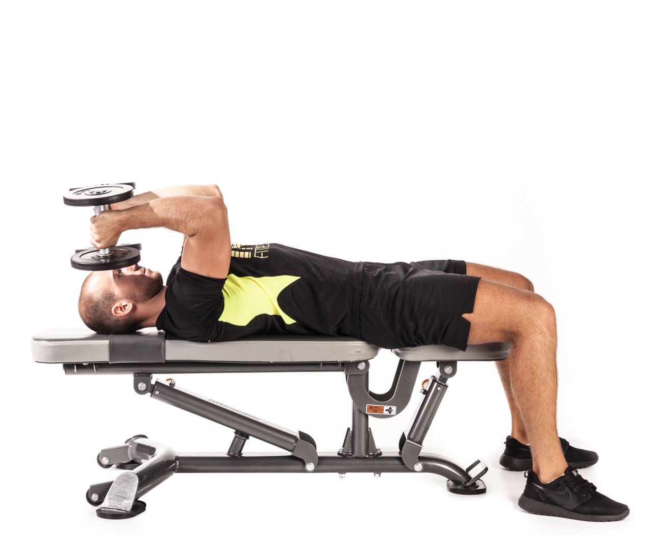 Flat Bench Triceps Extension frame #2